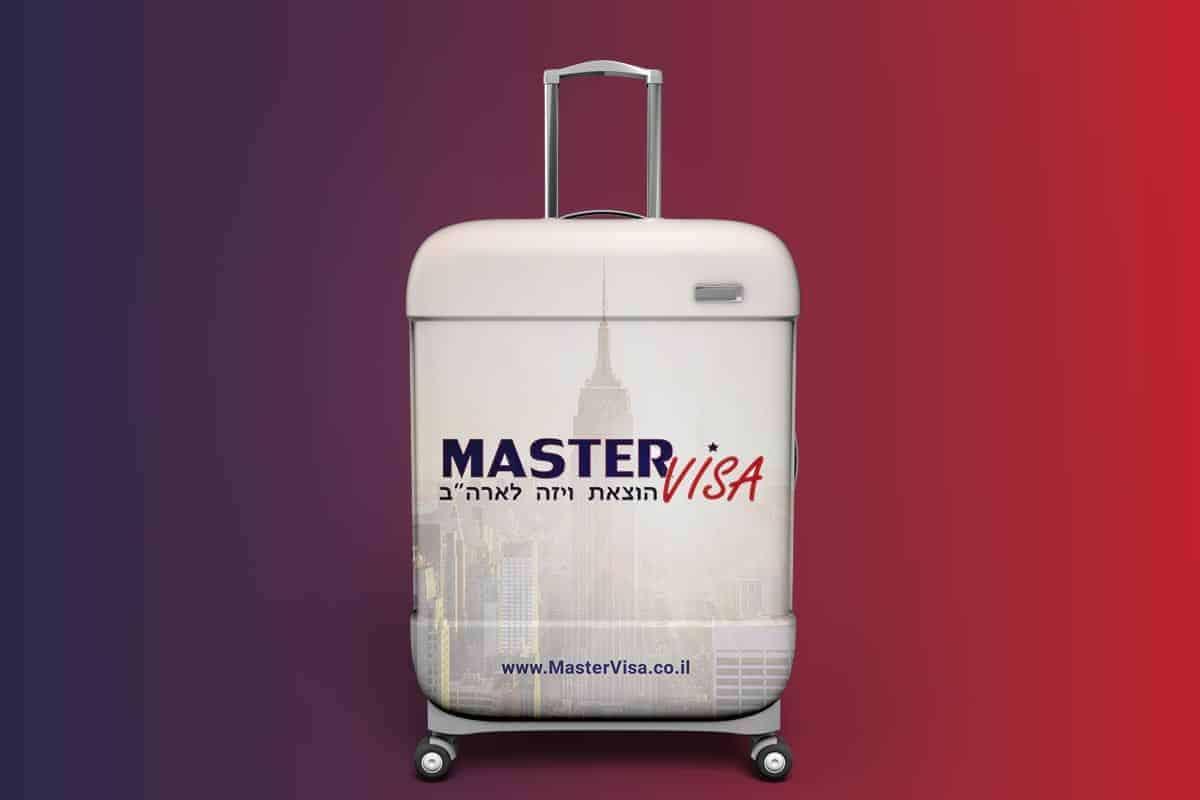 עיצוב לוגו לחברת מאסטר ויזה