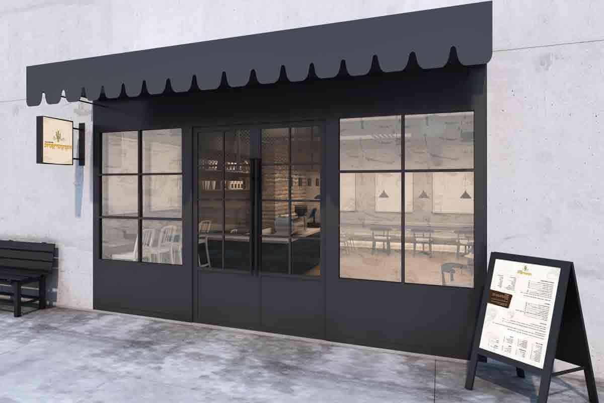 עיצוב ומיתוג עסקי למסעדות