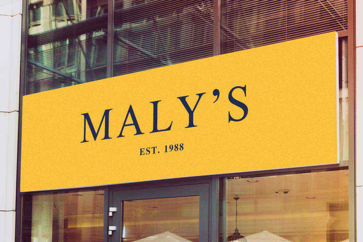 מיתוג עסקי MALY'S