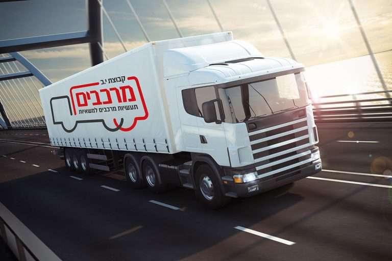 עיצוב לוגו לחברת מרכבים