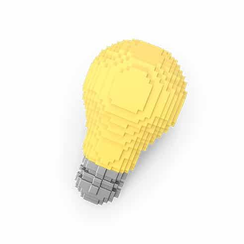 מנורה מעוצבת - עיצוב לוגו וקטורי לבין עיצוב לוגו בפוטושופ